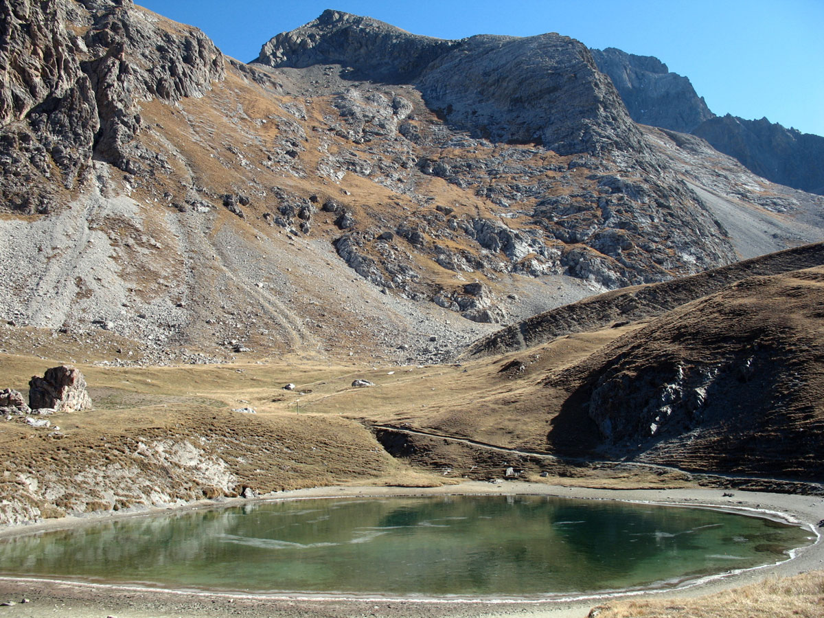 Klettersteig Chateau Queyras : Montagnes du queyras hautes alpes : 28 de plus 3000 m