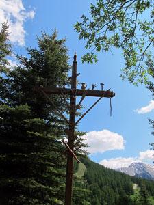 Croix de mission à Molines-en-Queyras (Hautes Alpes)