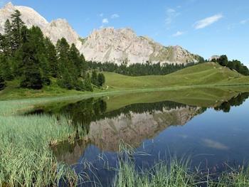 Lago Miroir (specchio) a Ceillac