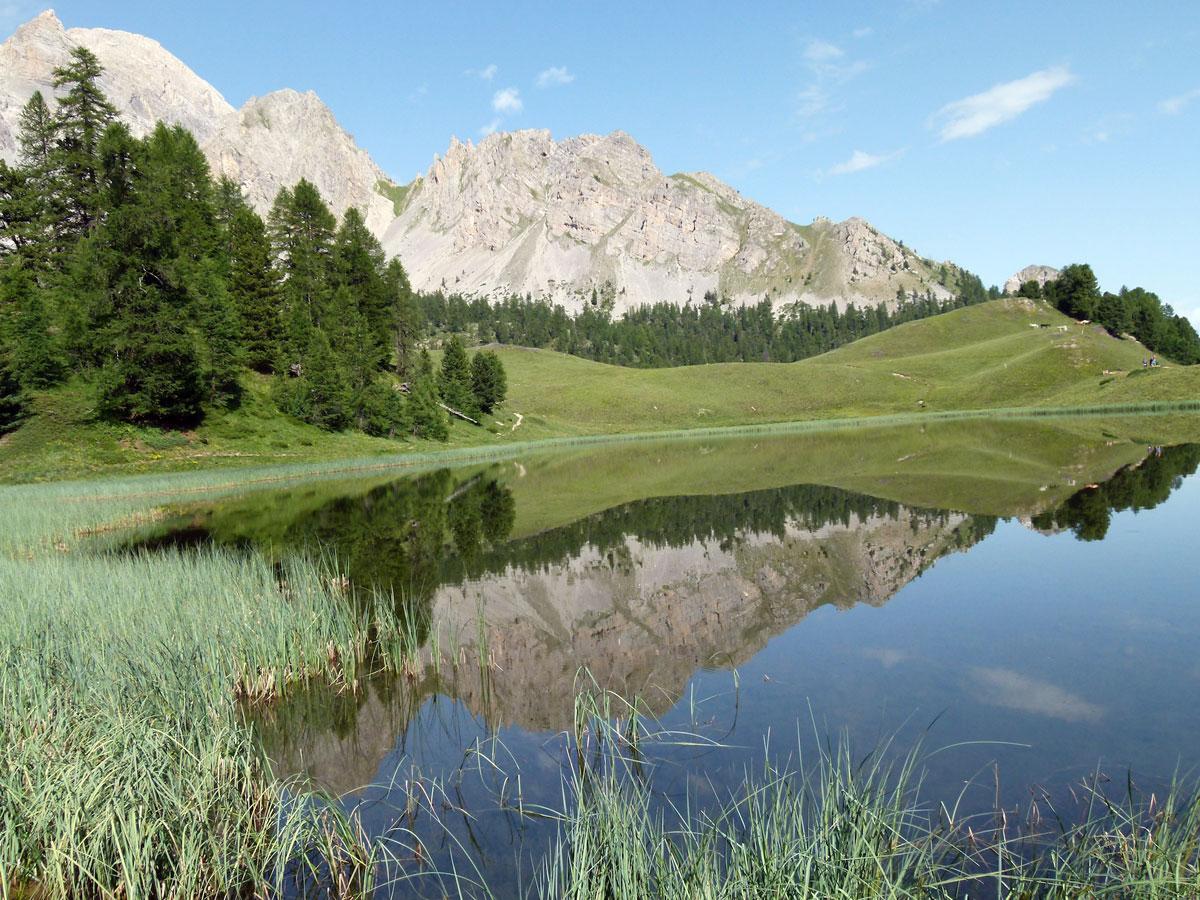 Lacs de montagne des hautes alpes dans le queyras for Lac miroir queyras