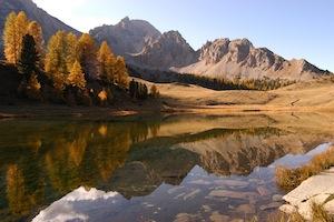 Der See Miroir (Spiegel) in 2237 m Höhe