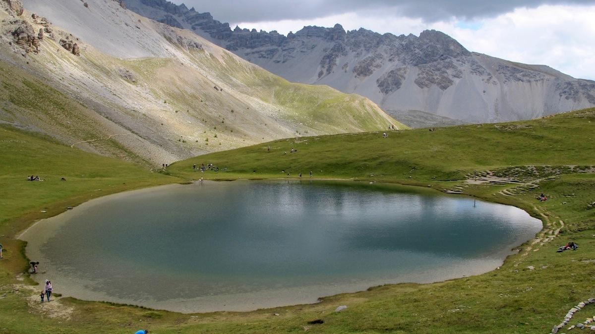 Klettersteig Chateau Queyras : Lacs de montagne des hautes alpes dans le queyras