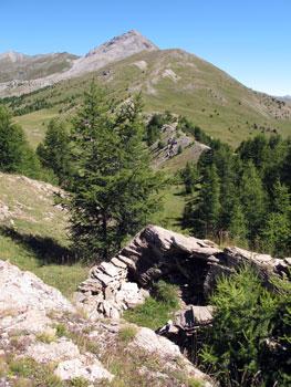 Le Pic de l'Agrenier à Château-Ville-Vieille