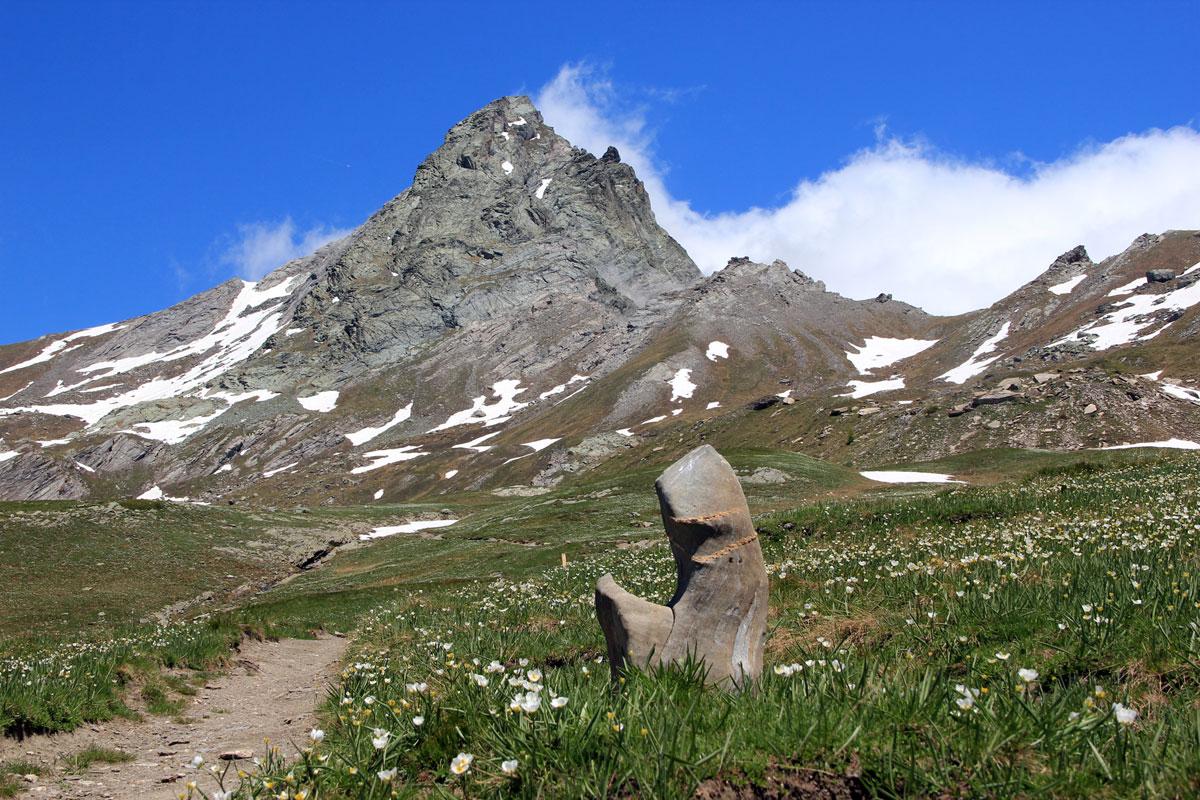 Klettersteig Chateau Queyras : Einige berge des queyras locations
