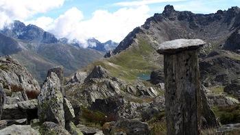 Le col de Longet à Saint-Véran est le dernier col vers le sud entre le Queyras et l'Italie.