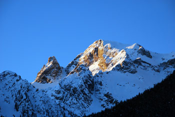 La Pointe de la Saume, montagne de Ceillac (Queyras)