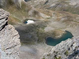 Les lacs de l'Eychassier à Ristolas