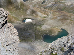 I laghi de l'Eychassier a Ristolas
