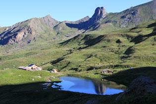 Lago della Blanche a Ristolas