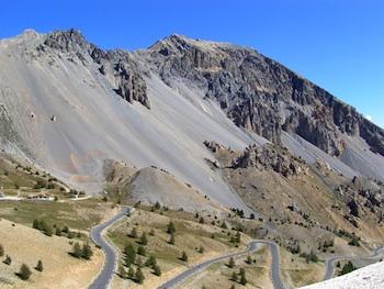 Le col d'Izoard côté Briançon (Hautes Alpes)