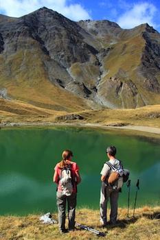 Lago di Clausis a Ceillac