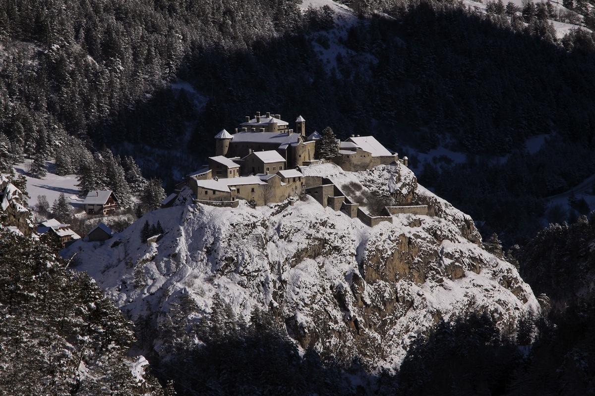 Fort-Queyras au blanc manteau