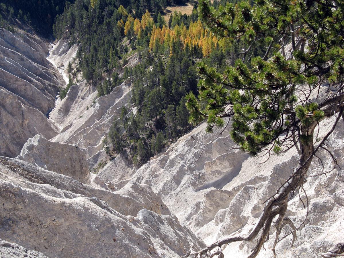 Klettersteig Queyras : Queyras hautes alpes une géologie très complexe
