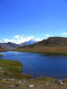 Lac de Chalantiès à Abriès (Queyras, Hautes Alpes)
