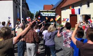 Arrivée à Carlsdorf (Hesse)