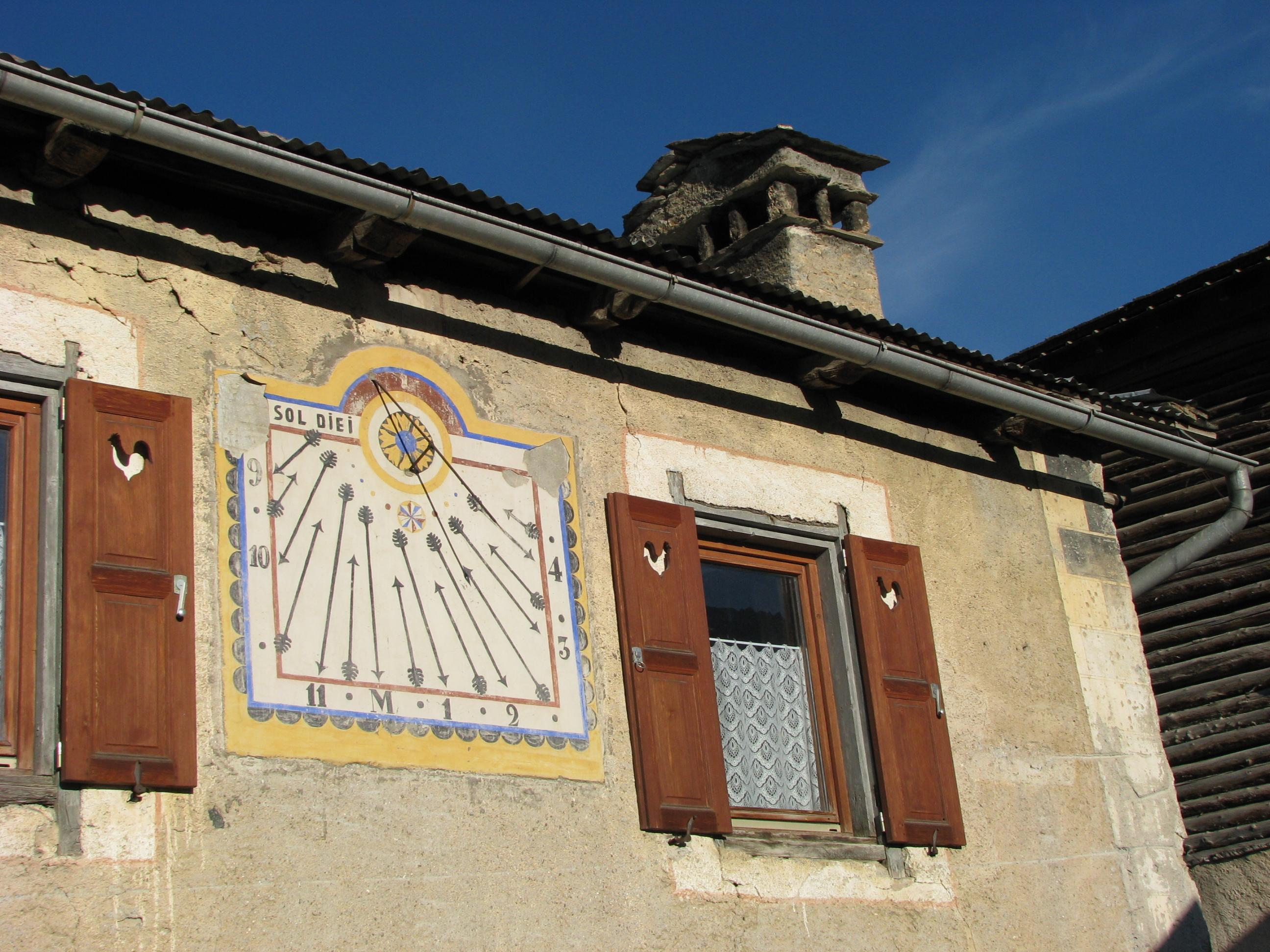 Un cadran solaire dû à Zarbula