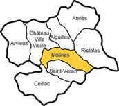 Le Queyras (Hautes Alpes) avec la commune de Molines