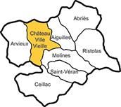 Il Queyras (Hautes Alpes) avec la commune de Château-Ville-Vieille