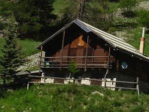 Ein Ferienchalet im Queyras (Hautes Alpes)