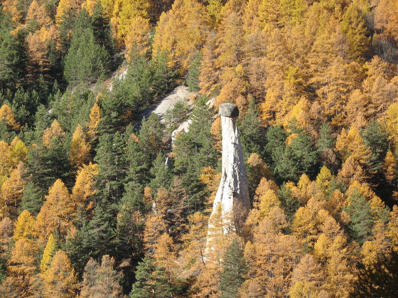 Klettersteig Chateau Queyras : Queyras hautes alpes une géologie très complexe