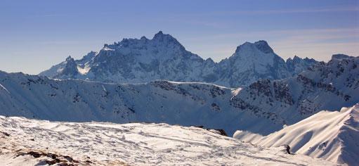 La Font Sancte à Ceillac, la montagne la plus élevée du Queyras