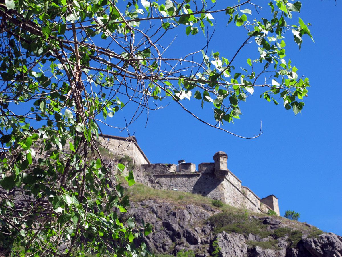 Klettersteig Chateau Queyras : Via ferrata de fort queyras ceillac arvieux dans les hautes alpes