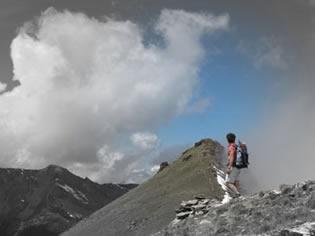 Méditation à la Gardiole de l'Alp (Molines-en-Queyras)
