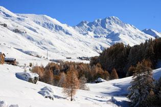 Le Grand Queyras (Molines-en-Queyras) en costume hivernal