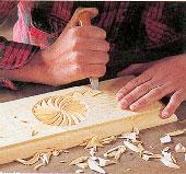 Scultura col coltello a Arvieux