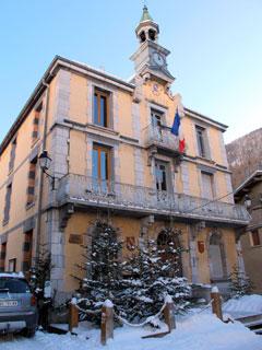 Mairie d'Aiguilles (Queyras, Hautes Alpes)