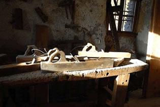 L'établi et les outils