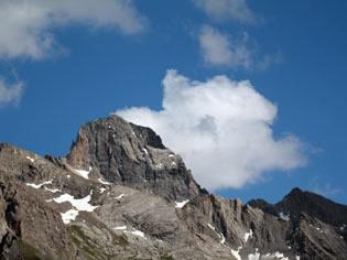 Le Péouvou à Ceillac, une montagne du Queyras qui domine l'Ubaye