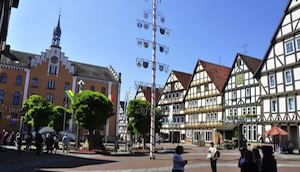 Piazza di Hofgeismar (Hesse)