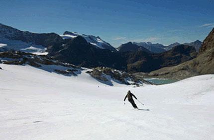 Skiwandern-en-Aiguilles im Queyras