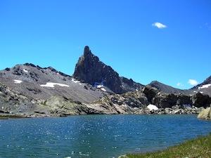 Têtes des Toillies et lac Blanchet