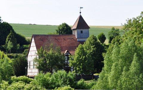Temple de Carlsdorf construit en 1707 par les Queyrassins