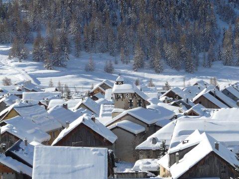 Strenge Winter in Ceillac