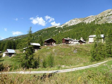La Riaille, una frazione di  Ceillac (Queyras)
