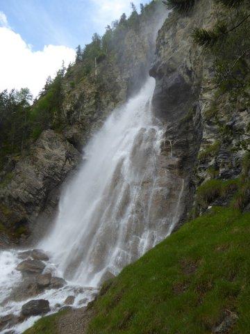 Cascata della Pisse a Ceillac (Queyras)
