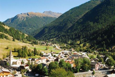 Abriès, ein Dorf im Queyras