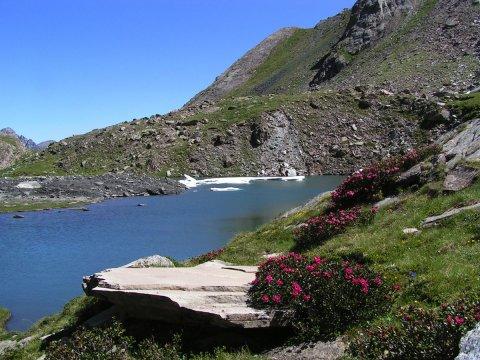 Lac Baricle à Ristolas