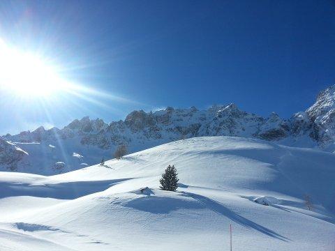 Die Fontsanctebergkette in Ceillac ist der höchste Berg im Queyras