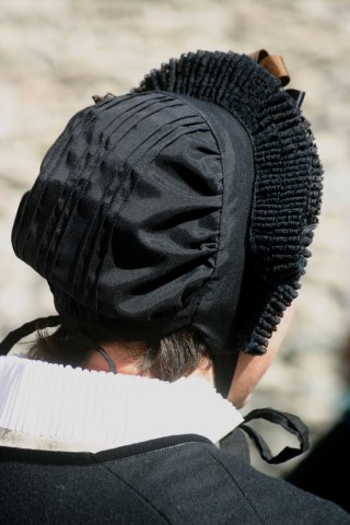Costume traditionnel du Queyras - Bonnet