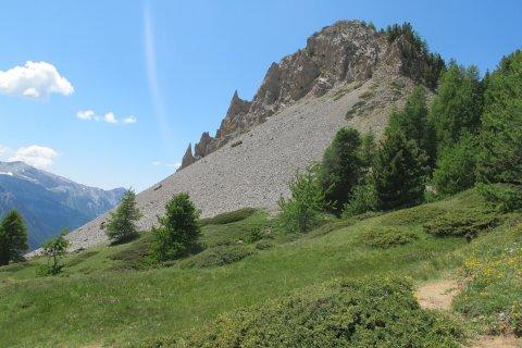 Col de Bramousse entre Ceillac (Queyras) et Guillestre