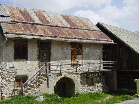 Die alte Schule von  Villargaudin (Arvieux, Queyras)