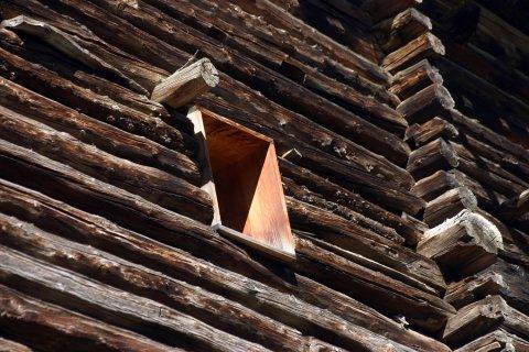 Artisanat du Queyras - Une fuste à Saint Véran