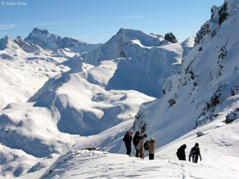 Oben auf dem Skigebiet von Haut de station, Grand Serre.jpg