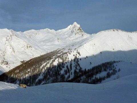 Neve a Abriès (Queyras, Alte Alpi)