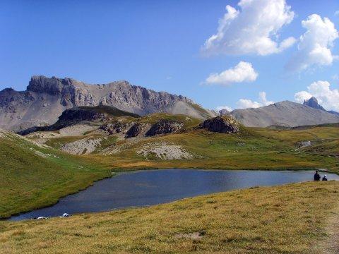 Un lac au col Néal