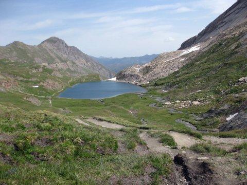Lac Foréant à Ristolas